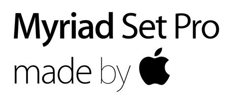 Apple Font Download | image gallery myriad font