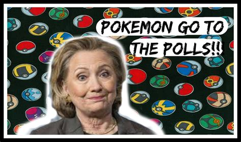 go to video cringey hillary clinton pokemon go joke meme ified