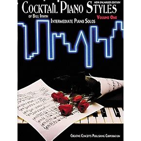 creative hairstyles book creative concepts cocktail piano styles volume 1 book