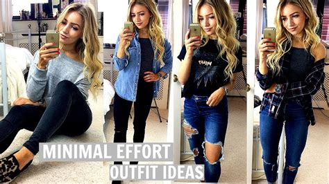 minute outfit ideas  effort outfits  school