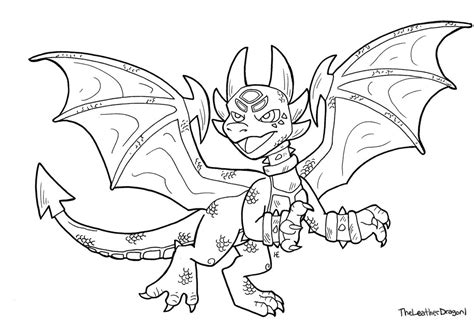 How To Draw Cynder From Skylanders