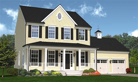 home design of thumb heritage at goshen colonial designs