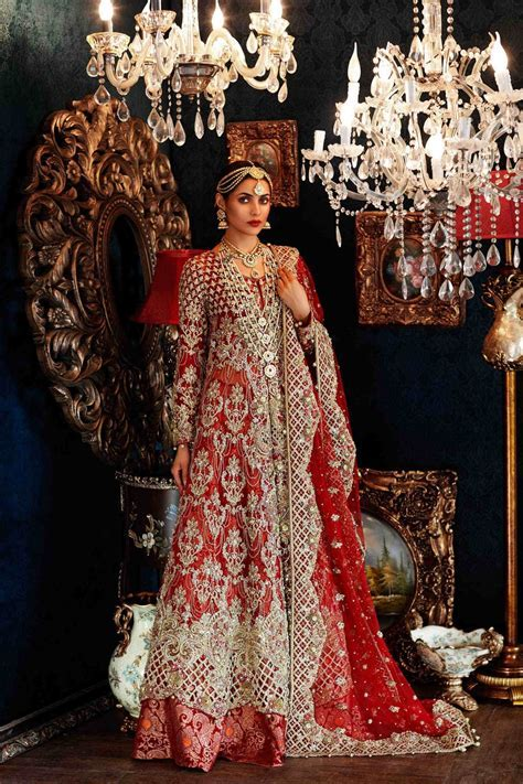 Latest Pakistani Bridal Dresses 2017 For Barat Day