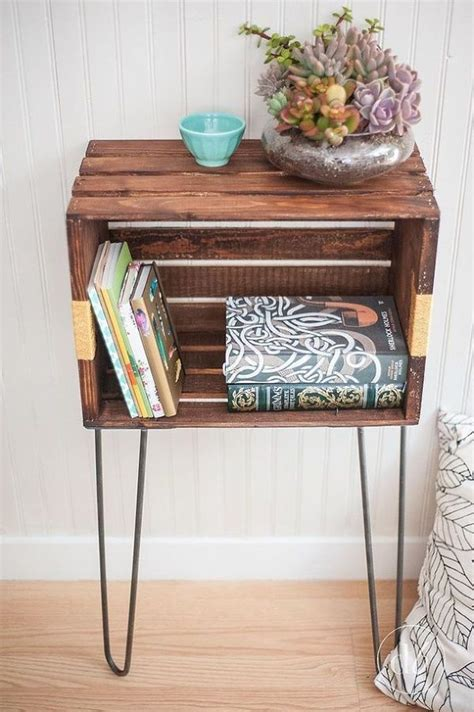 Crate Side Table by 25 Best Crate Side Table Ideas On Crate Table