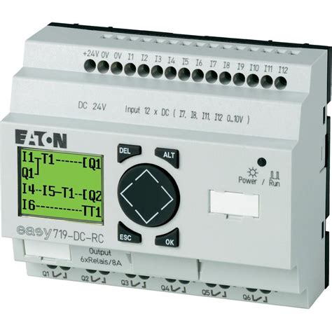 plc controller eaton easy 719 dc rc 274119 24 vdc from