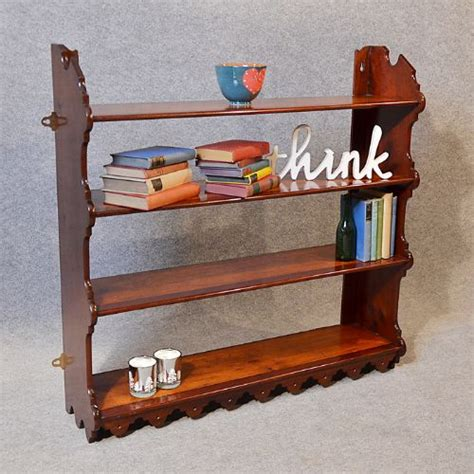 What Not Cabinet Antique Bookcase Display Shelves Open Wall Cabinet