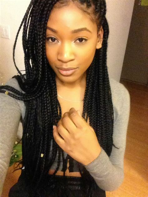 Hairstyles For Individual Braids by 17 Best Images About Individual Braids On