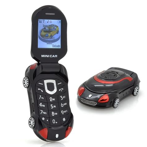 mobile phone small small sports car mobile phone
