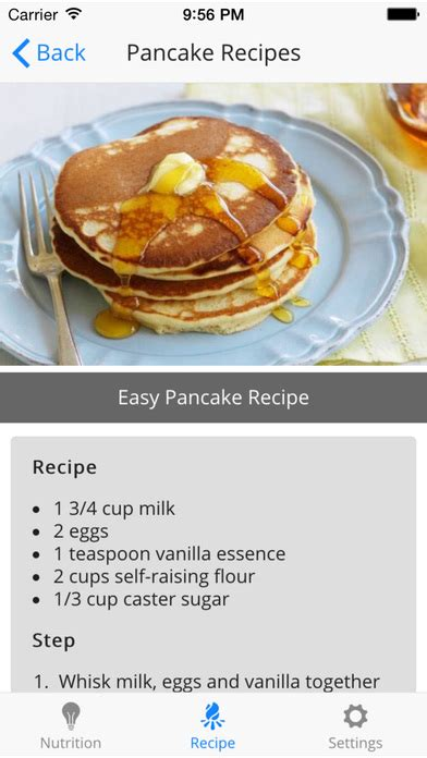pancakes recipes simple and easy pancakes healthy