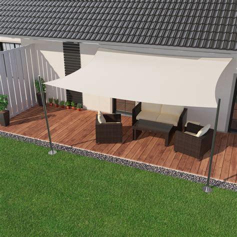 terrasse mit überdachung ibizsail premium sonnensegel f 252 r terrasse garten balkon