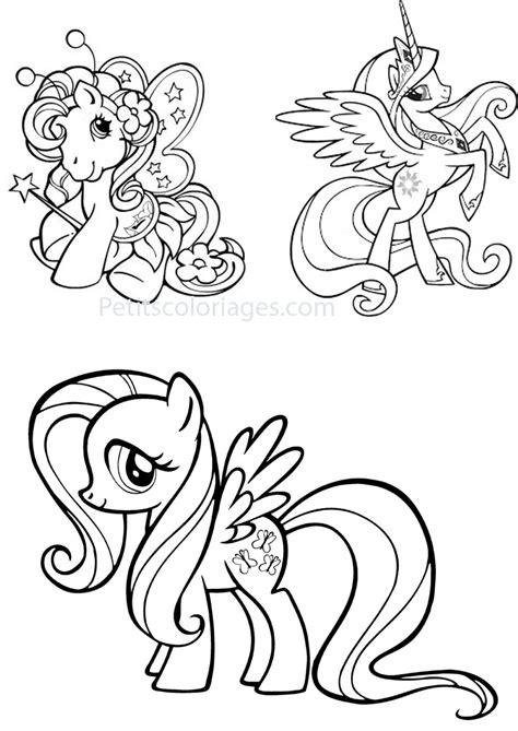 Petit Poney #229 (Dessins Animés) – Coloriages à imprimer