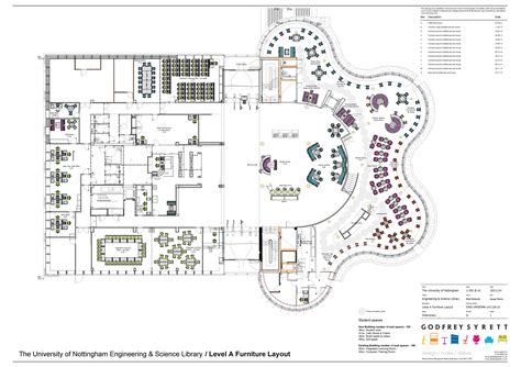 Administration Office Floor Plan by Engineering And Science Library The University Of Nottingham