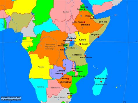 east africa map east cities www pixshark images galleries with a bite