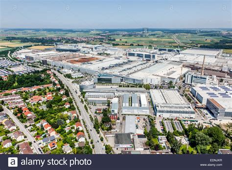 Audi Germany Factory by Aerial View Audi Ag Factory Plant Ingolstadt