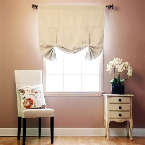 best thermal window treatments best home fashion thermal insulated blackout tie up window