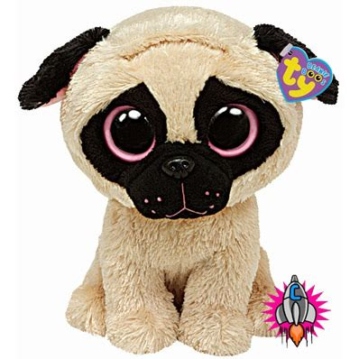 pugsley the pug beanie baby ty beanie babies baby boo boos pugsly the pug plush soft new tags ebay