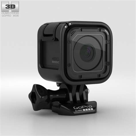 gopro models gopro hero4 session 3d model humster3d