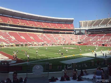 bryant denny stadium student section bryant denny stadium section bb rateyourseats com