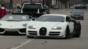 Lamborghini And Bugatti Pictures Cheap Second Lamborghini Aventador Vs Bugatti Veyron