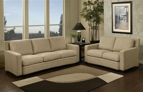 fabric sofa set abbyson living adler fabric sofa and loveseat set by oj