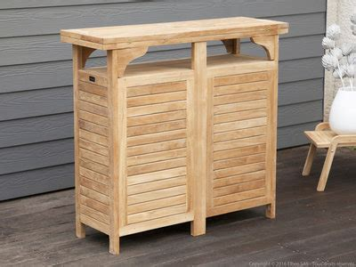 optez pour une table de bar dans votre jardin