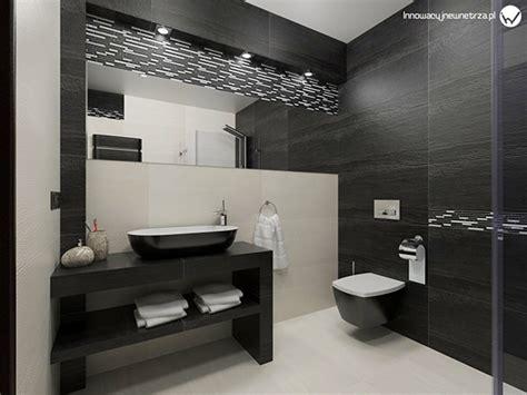badezimmer 5m2 small 5m2 bathroom with ergon falda black white tiles on