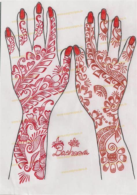 flower pattern mehndi design simple flower henna designs mehndi designs