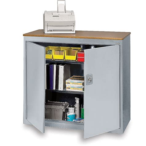 sandusky counter height storage cabinet 36x18x42