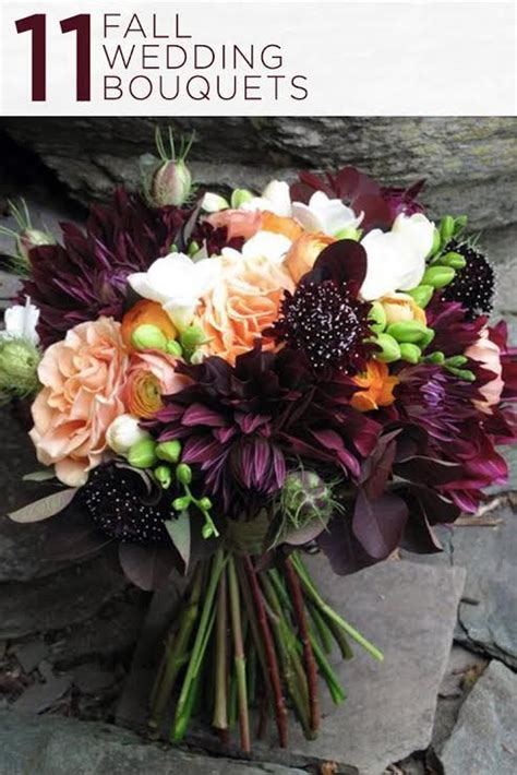 Fall Wedding Flower Ideas by 558 Best Wedding Bouquets Flowers Images On