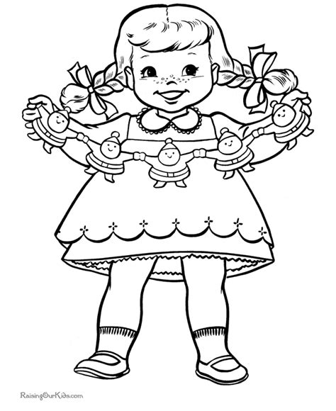 free christmas coloring pages look