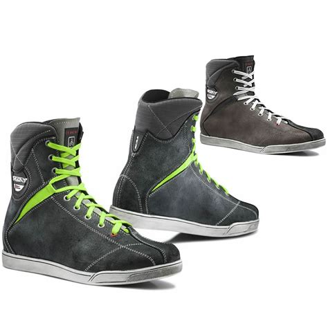 motorcycle riding boots tcx x rap mens lace up waterproof casual motorcycle riding