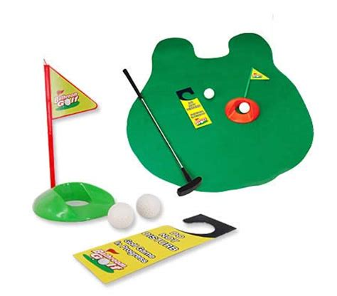 bathroom golf game toilet novelty bathroom golf game crazy sales