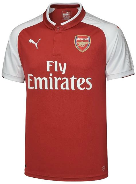 arsenal new kit new arsenal jersey 2017 2018 gunners unveil puma home