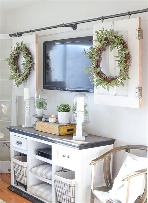 kitchen television ideas home decorating ideas kitchen diy television cover with