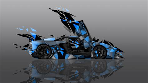 Lamborghini Aventador Transformers 4k Lamborghini Aventador Side Transformer Abstract Car
