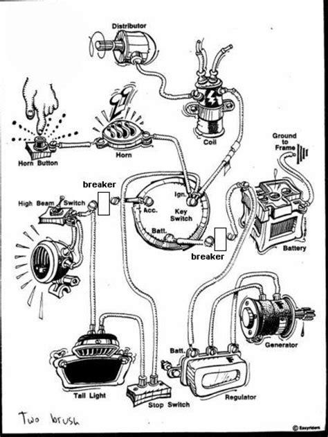 panhead generator wiring diagram get free image about