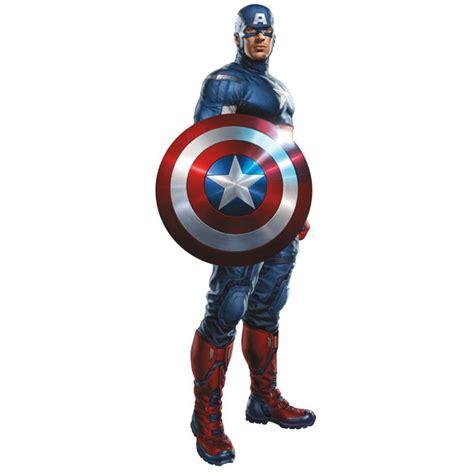 Captain America Decor by Captain America Bedroom Decor Wall Decal