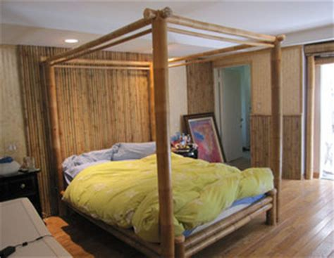 quality bamboo  asian thatch  poster bedcanopy bed