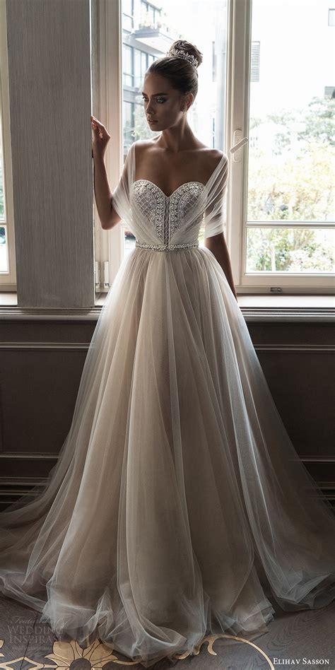Wedding Dress 2018 by Elihav Sasson 2018 Wedding Dresses Vintage Jewellery