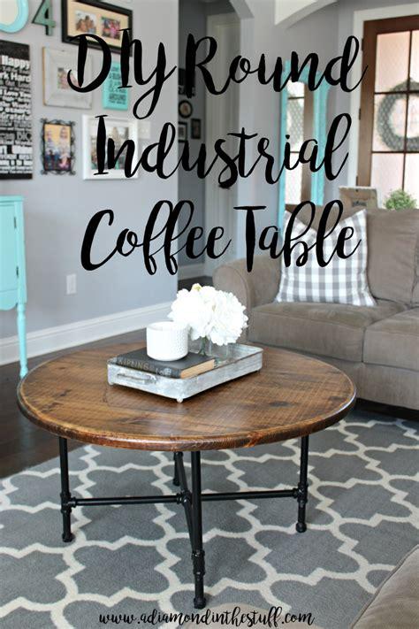 industrial coffee table diy diy industrial coffee table