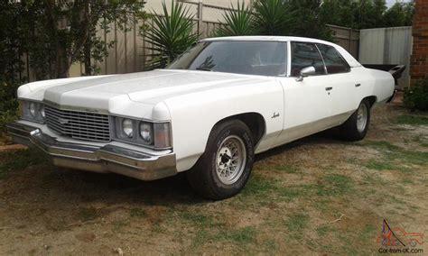 cadillac pontiac 1974 chevrolet impala 350 v8 auto rhd not pontiac cadillac