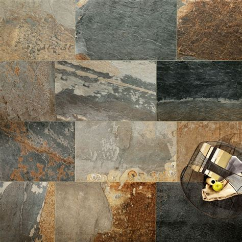Ardesia Natural   Slate Effect Tiles   Porcelain Superstore