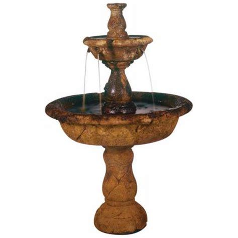 ls plus outdoor fountains henri studio 42 quot high small tazza tier garden fountain