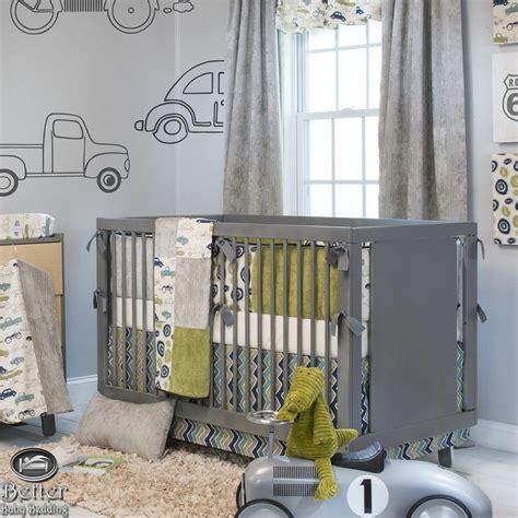 Glenna Jean Baby Boy Car Truck Transportation Crib Nursery Truck Crib Bedding Set