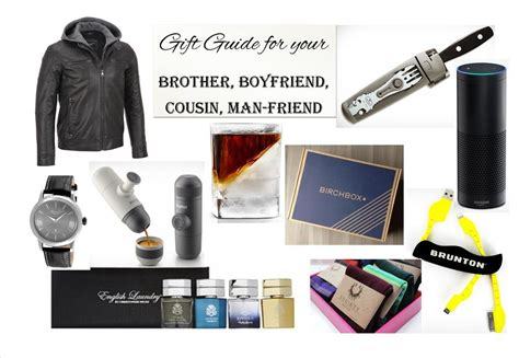 holiday gift guide for your brother boyfriend cousin