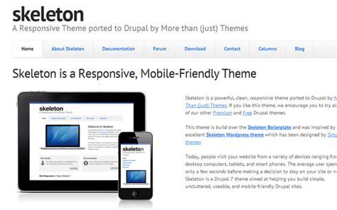 75 best free premium drupal themes of 2014 savedelete
