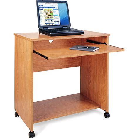 Computer Desk Cart Native Oak Furniture Walmart Com Walmart Furniture Computer Desk