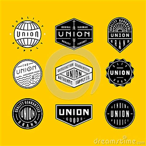 vintage logos badges 2 stock vector image 51059616