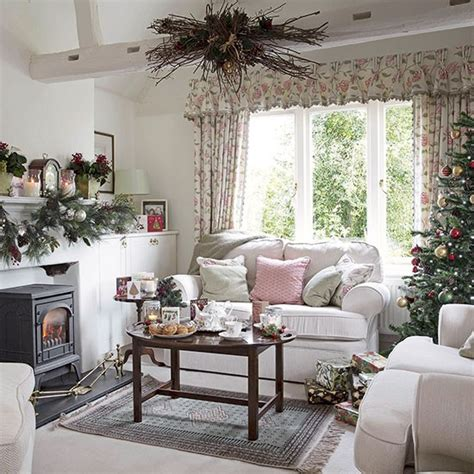 Floral Living Room Country Floral Living Room Dressed For