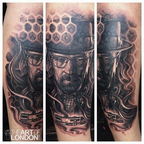 heisenberg tattoo breaking bad heisenberg walter white by reese